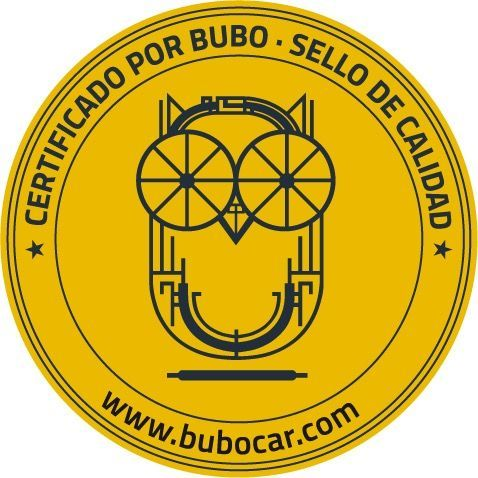 Sello certificado Bubocar